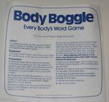 Board Game: Body Boggle