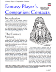 RPG Item: Contacts