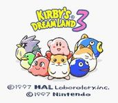 Video Game: Kirby's Dream Land 3