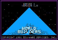 Video Game: Empire I – World Builders