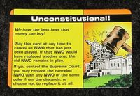 Board Game: Illuminati: Unconstitutional! Promo Card