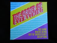 Board Game: The Order of Everything