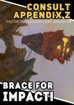 RPG Item: Consult Appendix Z - No 1: Brace For Impact!