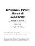 RPG Item: VS03-PL01: Shadow War: Seek & Destroy