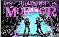 Video Game: Shadows of Mordor: Game Two of Lord of the Rings