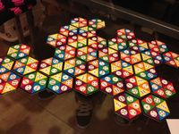 Board Game: Hexago Continuo