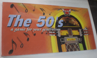 Board Game: The 50's: A Game for Your Generation