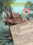 RPG Item: 5e Creature Decks: Beasts, Oozes, & Plants