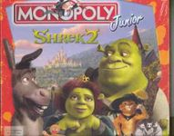 Board Game: Monopoly Junior: Shrek 2