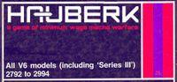 RPG: Hauberk: A Game of Minimum Wage Mecha Warfare