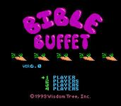 Video Game: Bible Buffet