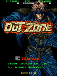 Video Game: Out Zone