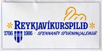 Board Game: Reykjavíkurspilið