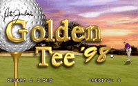 Video Game: Golden Tee '98