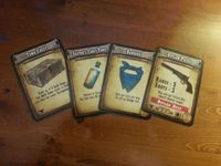 Board Game: Shadows of Brimstone: Outlaw Promo Cards