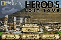Video Game: National Geographic: Herod's Lost Tomb