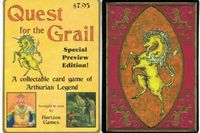 Board Game: Quest for the Grail