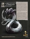 RPG Item: Storm Bunny Presents: The Zhamaja: Wyrm of the Abyss (5E)