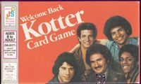 Board Game: Welcome Back Kotter Card Game