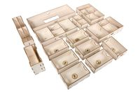 Board Game Accessory: Scythe: Legendary Organizer – Broken Token Insert