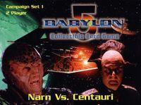 Board Game: Babylon 5 Collectible Card Game