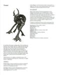 RPG Item: Classes of Fantasy: Treant