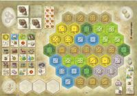 Board Game: The Castles of Burgundy: 1st Expansion – New Player Boards