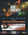 RPG Item: Red Dwarf: A.I. Screen