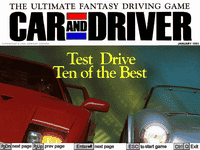 Video Game: Car and Driver