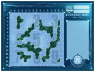 Board Game: Captain Sonar: Foxtrot Map