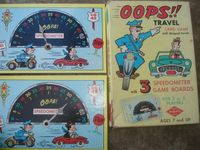 Board Game: OOPS!! Travel Card Game