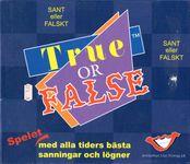 Board Game: True or False