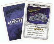 Board Game: Alien Frontiers: The Space Crane