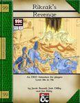 RPG Item: Quest 009: Rikrak's Revenge