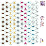 Board Game Accessory: Lewis & Clark: Sticker Sheet