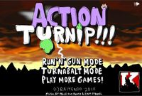 Video Game: ACTION TURNIP!!!