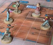 Board Game: Old West Shootout