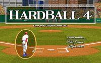 Video Game: HardBall 4