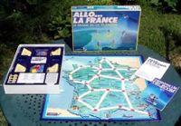 Board Game: Allo... la France: Le Grand Jeu du Tėlėphone