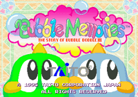 Video Game: Bubble  Memories