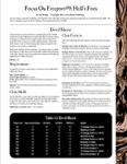 RPG Item: Focus on Freeport #9: Hell's Foes