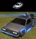 Character: Delorean Time Machine