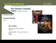 Issue: Silven Trumpeter (Issue 20 - Apr 2005)