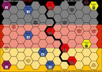 Board Game: Age of Steam Expansion: Washington DC and The Berlin Wall