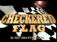Video Game: Checkered Flag