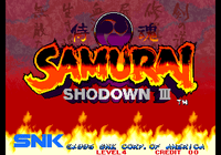 Video Game: Samurai Shodown III