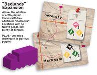 Board Game: The Great Heartland Hauling Co.: Badlands