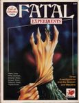 RPG Item: Fatal Experiments