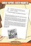 RPG Item: Threat Report #29: Death Magnetic