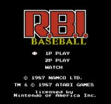 Video Game: R.B.I. Baseball